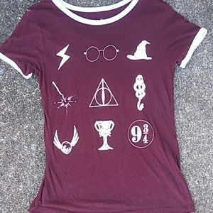 Harry Potter Red Shirt